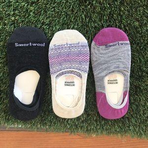 Women's Smartwool No Show 3pack Medium size Socks